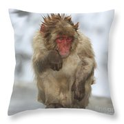 I'm Just Cold Throw Pillow