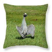 I'm Just Standing Here Throw Pillow