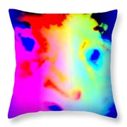 I'm Like A Bird Flying With My Own Wings Throw Pillow