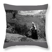 I'm Not The One Throw Pillow