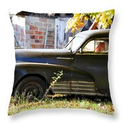 I'm Only Sleeping Throw Pillow