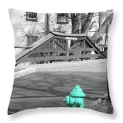 I'm Supposed To Be Red Throw Pillow