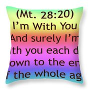 Im With You Throw Pillow