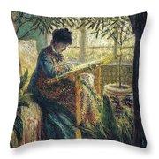 Image 348 Claude Oscar Monet Throw Pillow