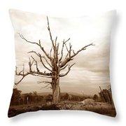 Fantastic Tree Throw Pillow