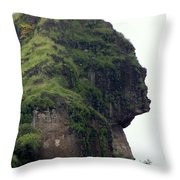 Image Of A Woman Throw Pillow