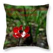 Image Of God Throw Pillow