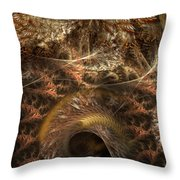 Image Of The Organism Throw Pillow
