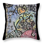 Images From The Collective Unconscious Throw Pillow by Mimulux patricia no No