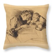 Images (les Images) Throw Pillow