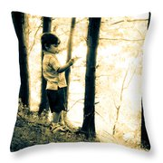 Imagination And Adventure Throw Pillow