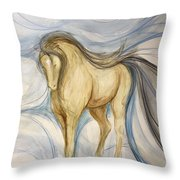 Imagination Angel Throw Pillow