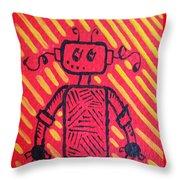 Imagination Denied Throw Pillow