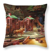 Imagination Final Frontier Throw Pillow