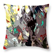 Imagination Fuel Throw Pillow