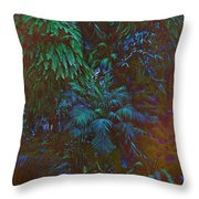 Imagination Leafing Out Throw Pillow