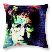 Imagination Of A Song Man Throw Pillow