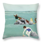 Imagination Of One Throw Pillow