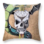 imaginative Simbol Throw Pillow