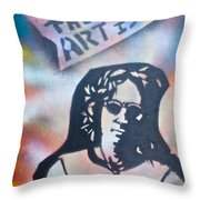 Imagine Art Throw Pillow by Tony B Conscious