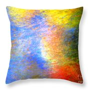 Imerging From Darkness To Lights Throw Pillow