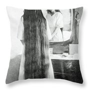 Img-27 Black And White Throw Pillow