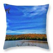 Img_1799.jpg Portage Lake Maine Throw Pillow