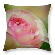Imitation Love - Paper Rose Throw Pillow