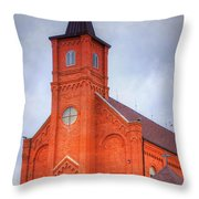 Immaculate Conception Catholic Church Throw Pillow