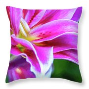 Immerse Yourself - Paint Throw Pillow