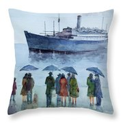 Immigration... Throw Pillow
