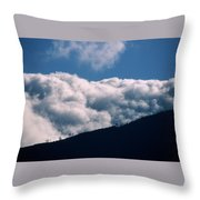 Imminent Judgment - San Rafael Mountains Throw Pillow