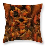 Immolaturo Throw Pillow