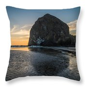 Immovable Object Throw Pillow