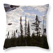 Impending Doom Throw Pillow