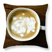 Imperfect Morning Throw Pillow