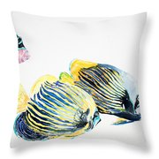Imperial Angels Throw Pillow