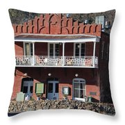 Imperial Hotel Amador City Throw Pillow