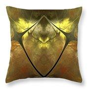 Imperial Topaz Throw Pillow