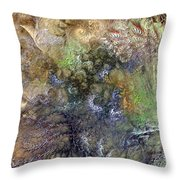 Imperialistic Miasma Throw Pillow