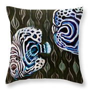 Imperials Throw Pillow