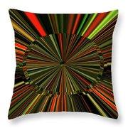 Implosion Throw Pillow