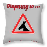 Impressing Bigstock Donkey 171252860 Throw Pillow