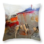 Impression 2 Throw Pillow
