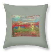 Impression Collection I Mountain Sunset Throw Pillow