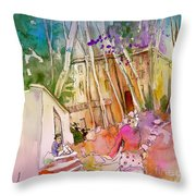 Impression Of Capileira 01 Throw Pillow