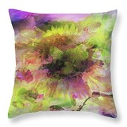 Impression Sunflower Throw Pillow