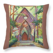 Impressionist Cooper Chapel Throw Pillow
