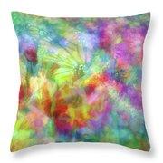 Impressionist Floral Xxxii Throw Pillow
