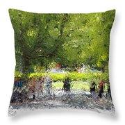 Impressionist Series #2 Throw Pillow